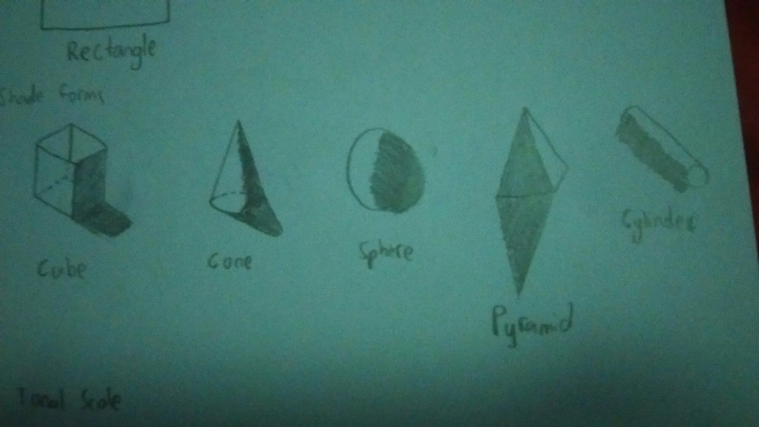 5 Shaded Forms