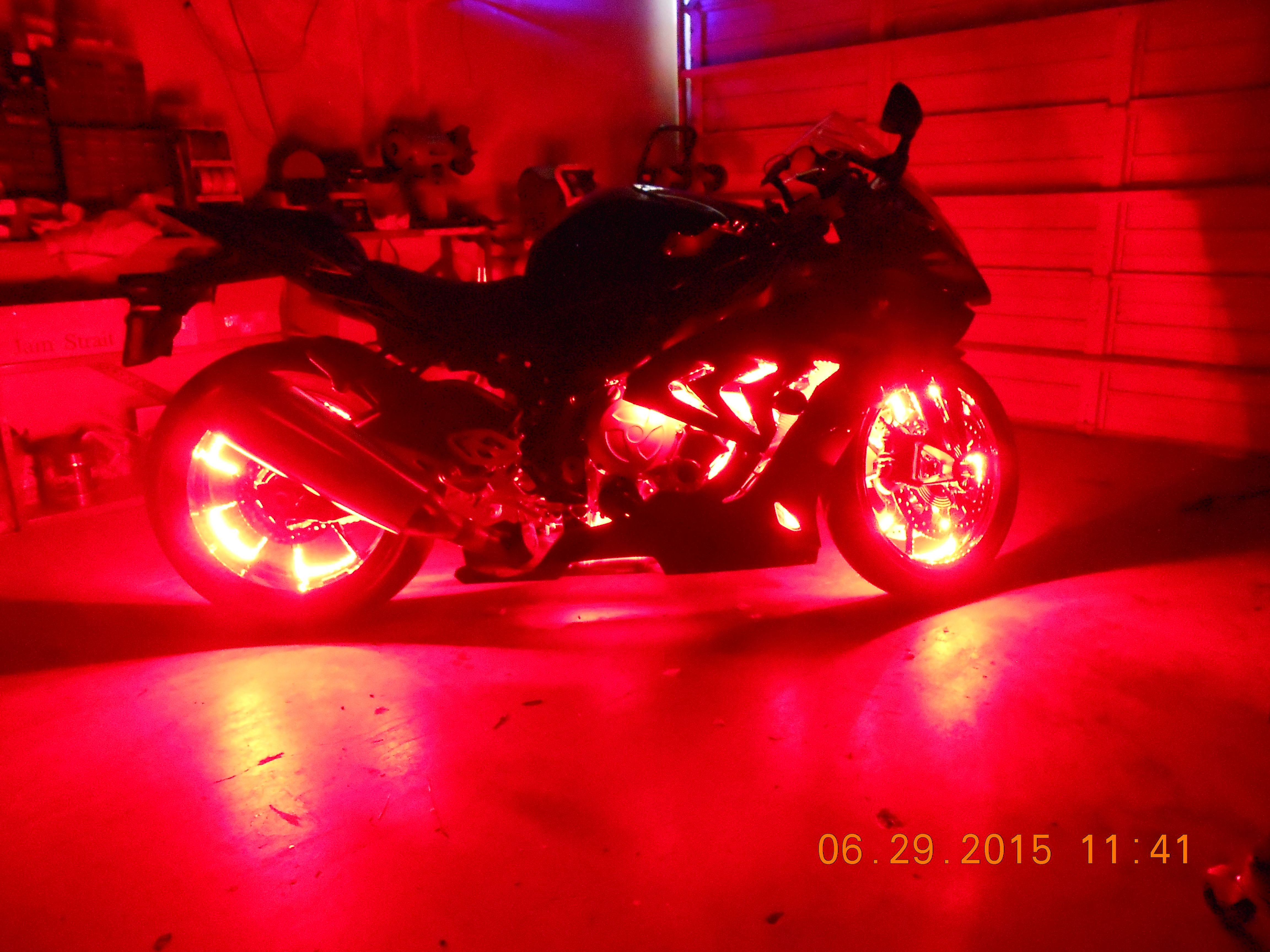 check out these pics of this custom led accent light job on this 2015 bmw s1000rr motorcycle lights motorcycle led lighting bmw s1000rr