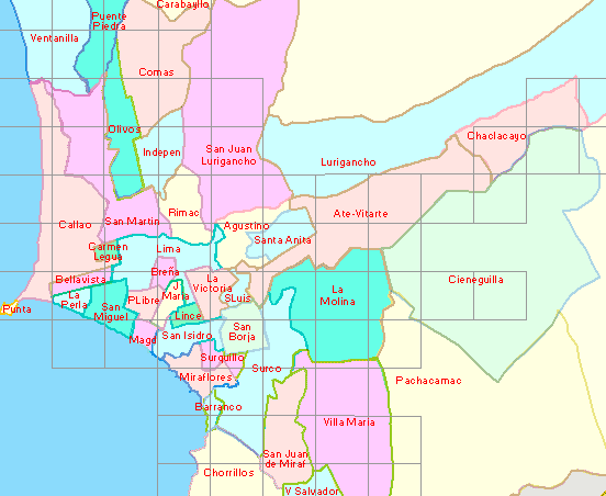Map Of Lima Peru Districts Where to stay in Lima: The ultimate guide to experience Lima like