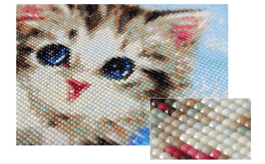 DIY Diamond Embroidery Mosaic Pen Painting Cross Stitch Crafts Tools,Decor~ Fast