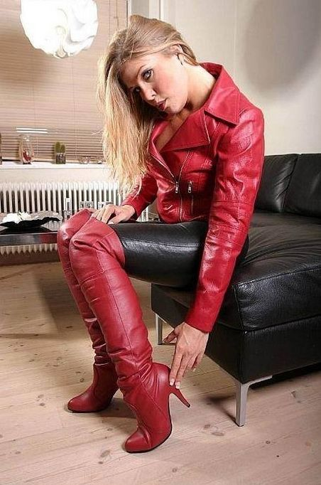 Beauties In Boots Boots Sk 248 N Pantalon Cuir