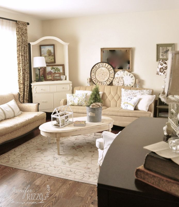 Furniture Placement In A Rectangular Room-the Living Room