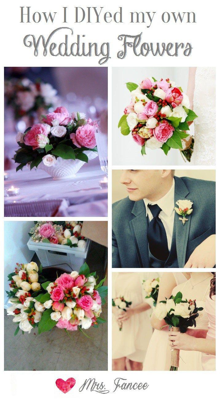 DIY Wedding Flowers  Pinterest  DIY wedding Flower and Weddings