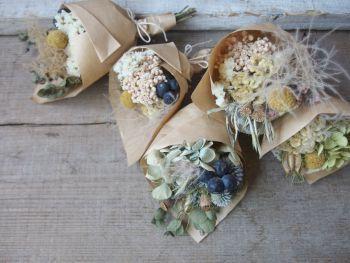 ドライフラワーのミニブーケ dryflower FLEURI blog