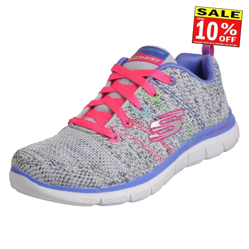 668ba31cc9ab Skechers Flex Appeal 2.0 High Energy Women s Memory Foam Running Shoes Gym  Train (eBay Link)