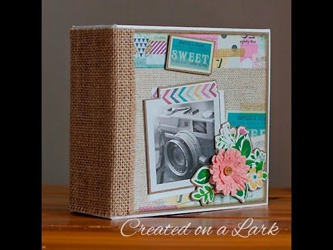 *SOLD* Simple Stories So Fancy Mini Album - YouTube