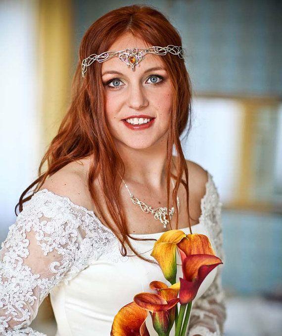 Headpieces For Weddings Ireland: Celtic Headpiece Worn By Irish Bride Http://my-paradise