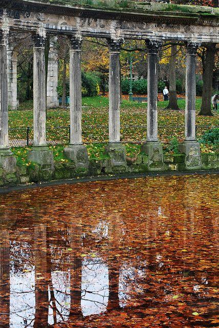 Parc Monceau - novembre 2010 © Julien Blavette