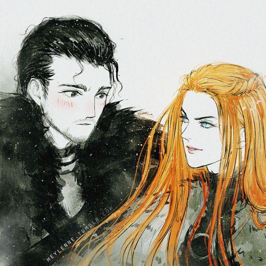 Https Heylenne Tumblr Com Jonsa Jon X Sansa With Images