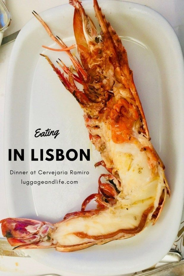 Eating at Cervejaria Ramiro in Lisbon, Portugal | Luggage and Life