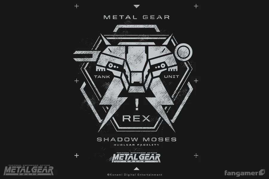 Mg Rex Pilot Hoodie Metal Gear Solid Hoodie Hoodies