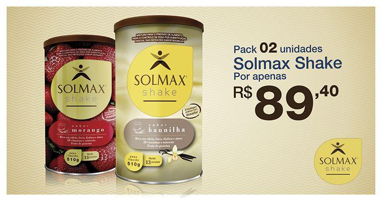 Comece sua #semana com #Solmax #Shake e fique em forma com os benefícios da #soja. #Economize 25% na compra de 02 unidades de #Solmax Shake! #Aproveite! Tempo limitado.