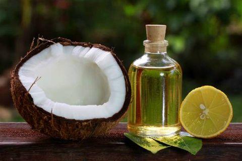 Ingredientes: 1 cucharada de aceite de coco, jugo de limón, Aloe ...