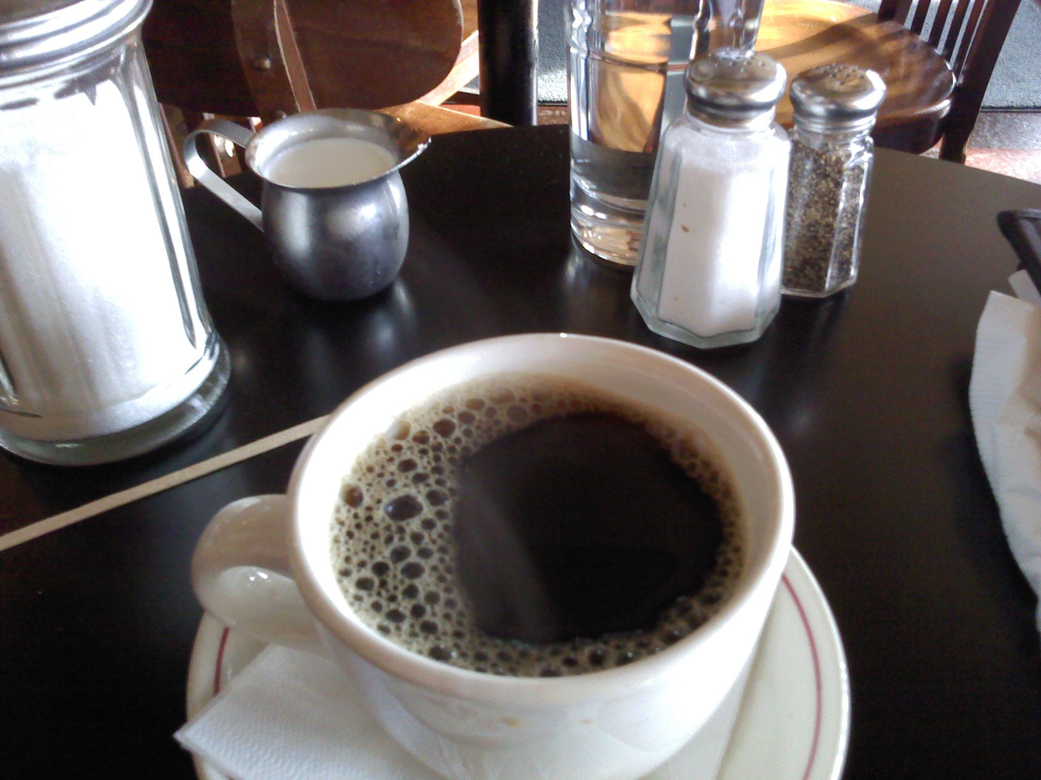 2nd best cup of coffee in town.