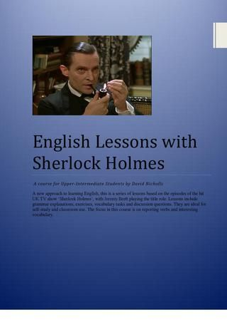 English Lessons with Sherlock Holmes
