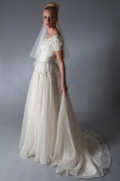 Vintage Italian Bridesmaid Dresses