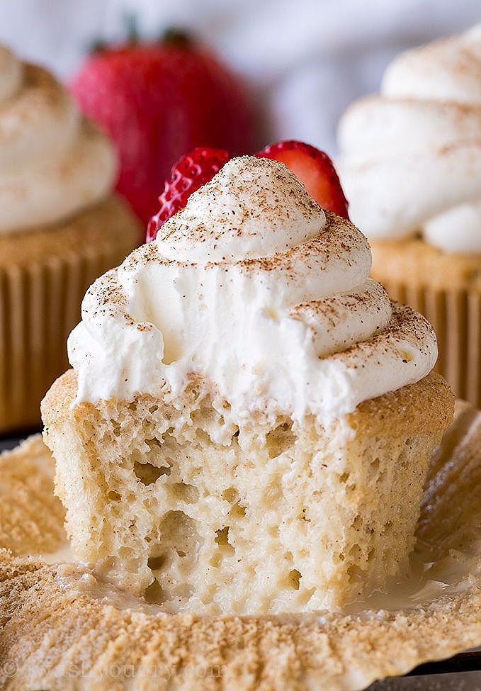 Photo of Tres Leches Cupcakes