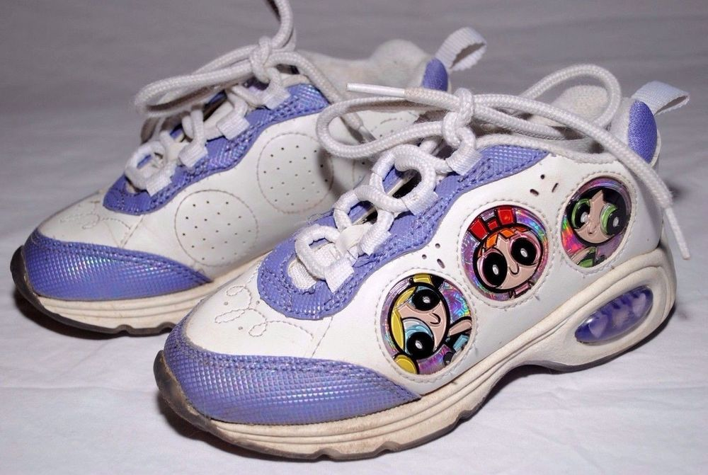 757dd085ba7d3 Vintage Children's Powerpuff Girls Tennis Shoes Sneakers Sz 12 Ships ...