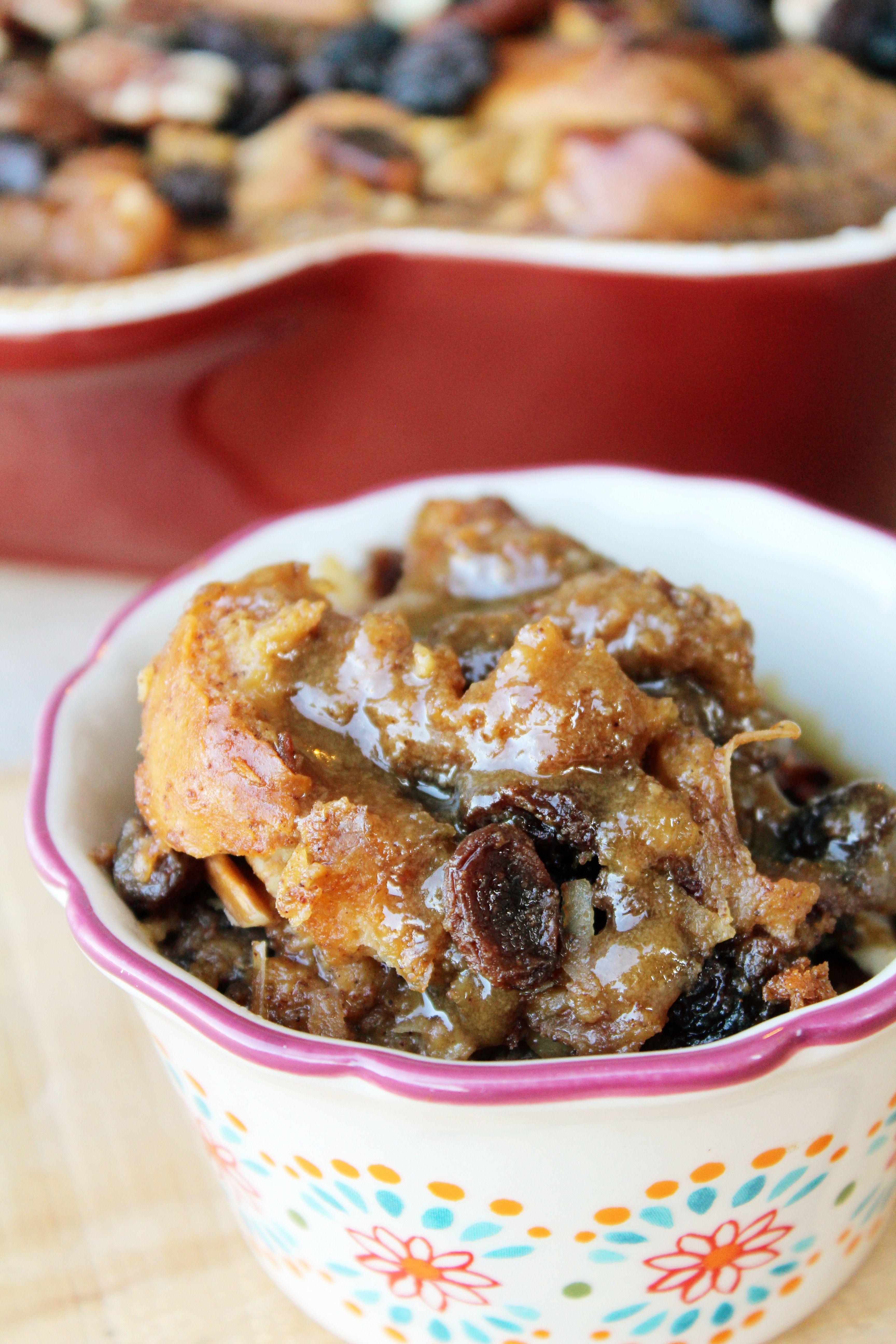 Capirotada Bread Pudding With A Maple Cream Sauce Gustonestle Ad Recipes Bread Pudding Delicious Desserts