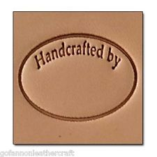 New 2015 Handcrafted  Craftool 3-D Stamp Tandy Leather 8689-00