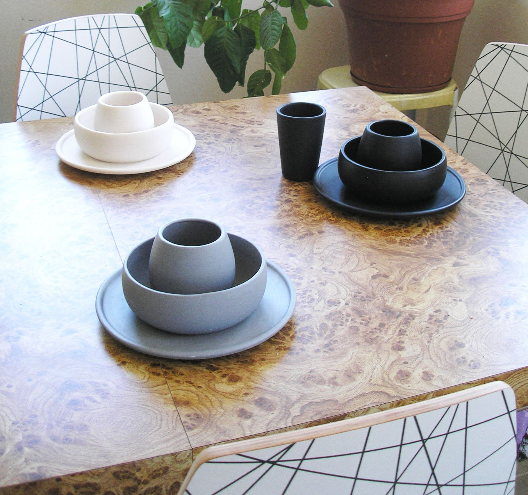 Matte Black Porcelain USA Made Dinner Plate & Matte Black Porcelain USA Made Dinner Plate   Faves   Pinterest ...