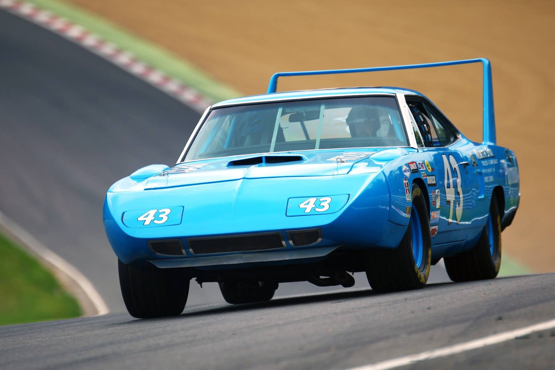 A replica of Richard Petty s Plymouth Superbird