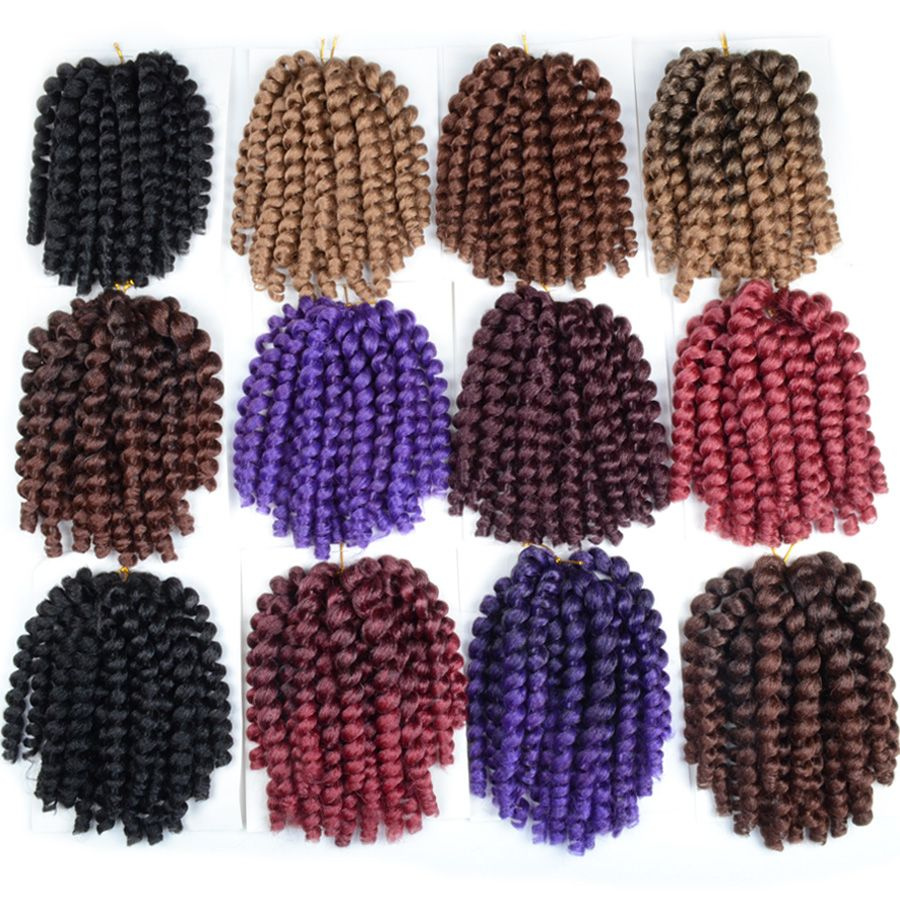 Falemei inch x jamaican bounce twist hair tresse crochet braids