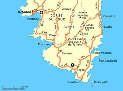 Carte Corse Ajaccio Porticcio.Bon Plan Sorties Corse Du Sud Forum Corse Routard Corse