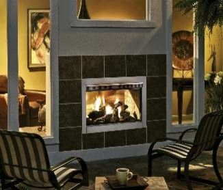 Outdoor Lifestyles Twilight Ii Gas Fireplace Fireplaces