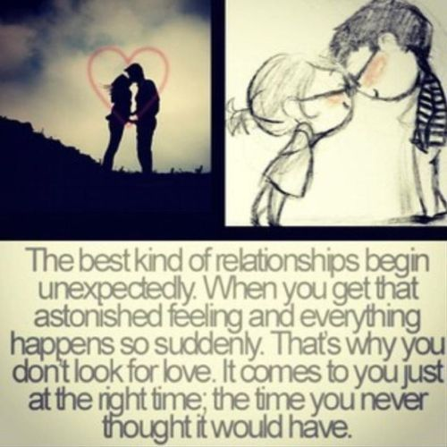 Love unexpected...