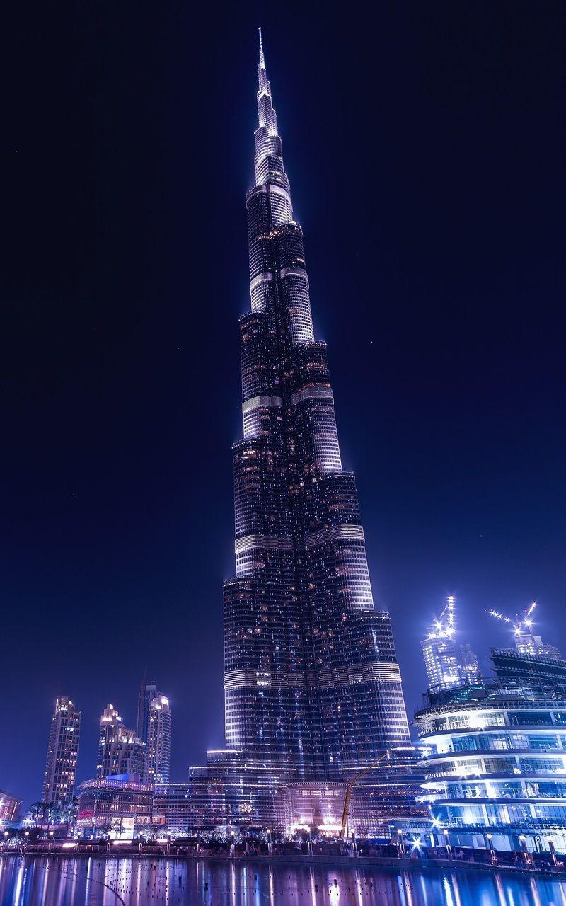 Burj Khalifa Dubai Uae Burj Khalifa Dubai Wallpaper Hd Dubai Architecture Burj khalifa night view hd wallpaper
