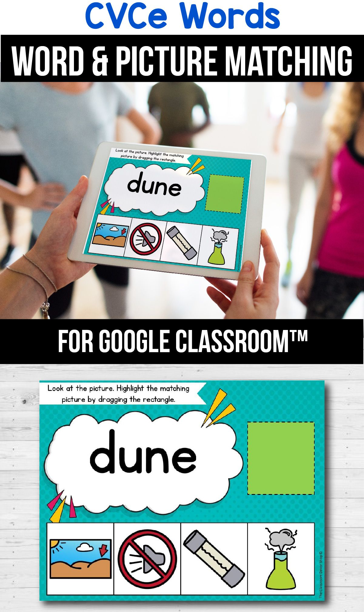 Classroom Packets Cvce Word Distance Learning In