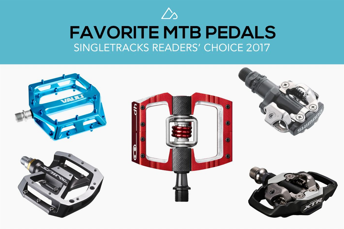 We Surveyed 2 100 Mountain Bikers To Find The Best Mtb Pedals