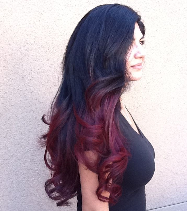 Ombre Highlights Hair Salon Services Best Prices Mila S Haircuts In Tucson Az Baylage Hair Boliage Hair Hair Highlights