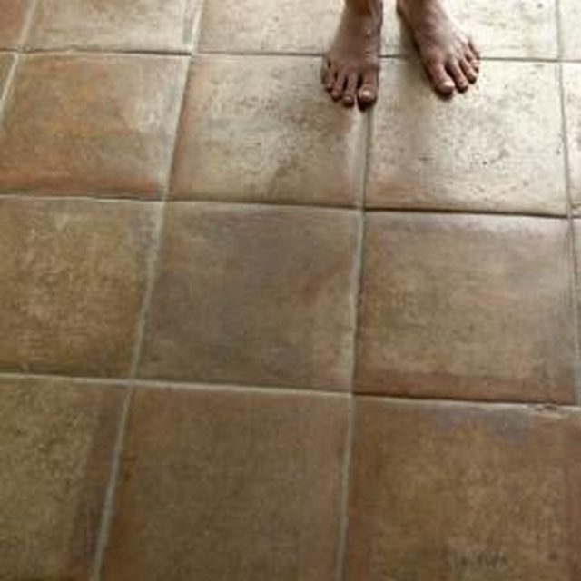 How To Bring An Old Tile Floor Back To Shine Cleaning Pinterest - How to buff ceramic tile floors
