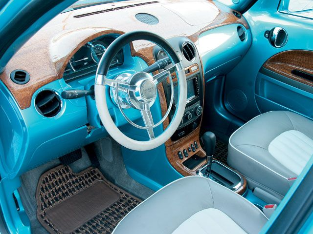 Rockabilly Hhr Chevy Hhr Truck Interior Alloy Wheels Repair