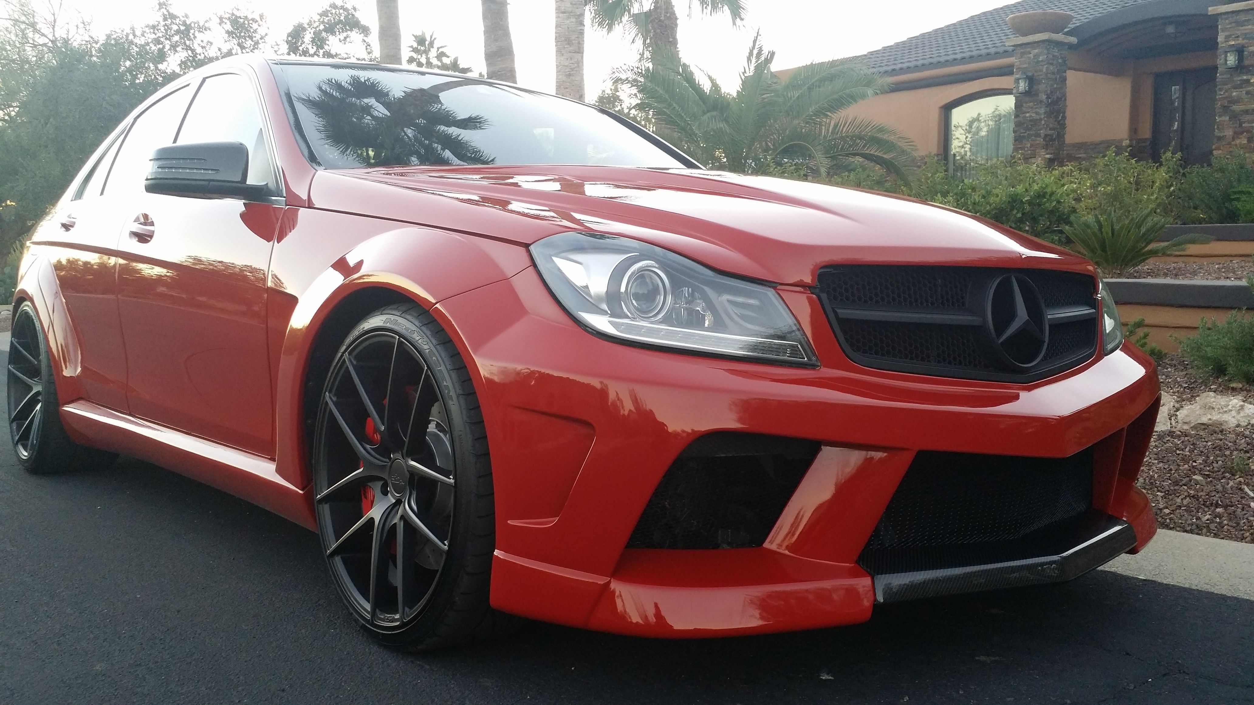 MISHA Designs - New Mercedes C-class wide body kit! - Page 7
