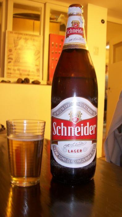Argentina - Schneider Cerveza Rubia | Beers of the World ...