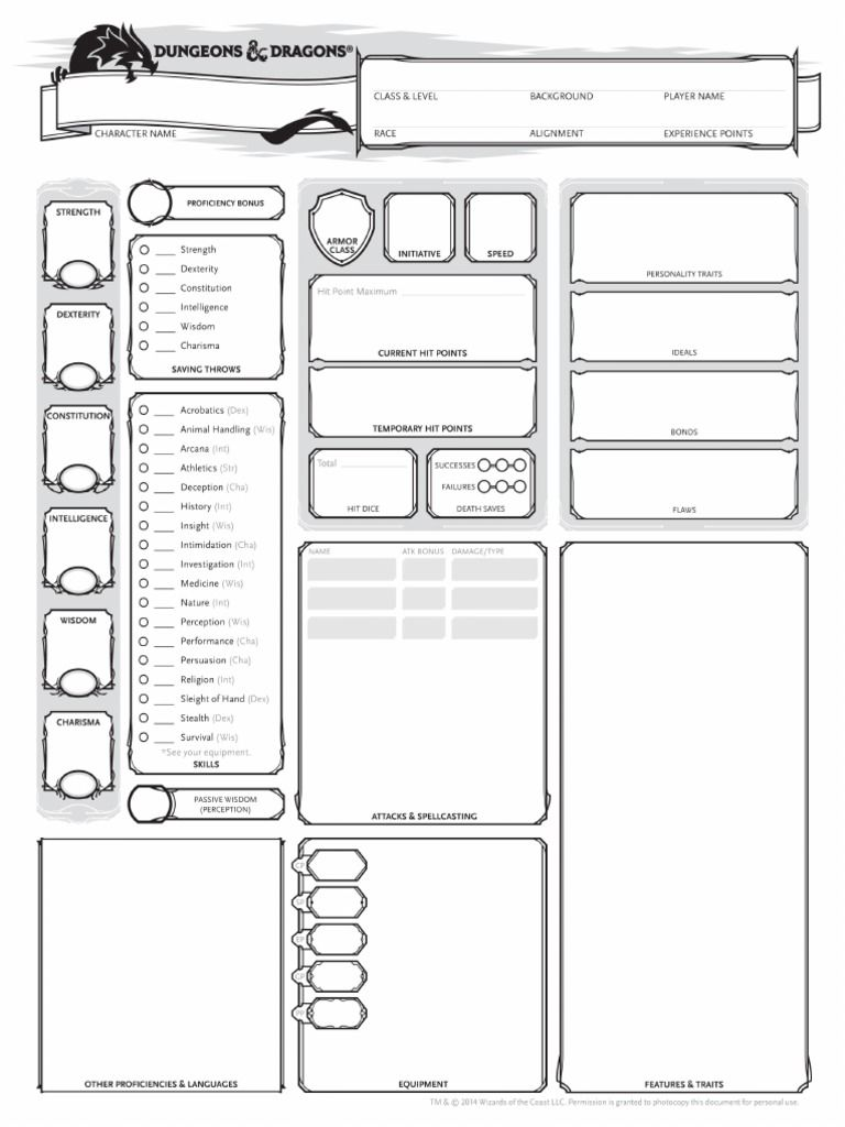 picture regarding Printable Dungeons and Dragons Character Sheet referred to as Lover Generated DD Crafts in just 2019 Dungeons, dragons people