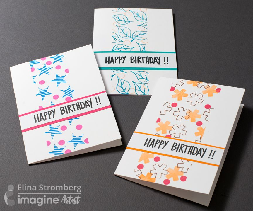 super cute and easy birthday cards  imagine blog  simple