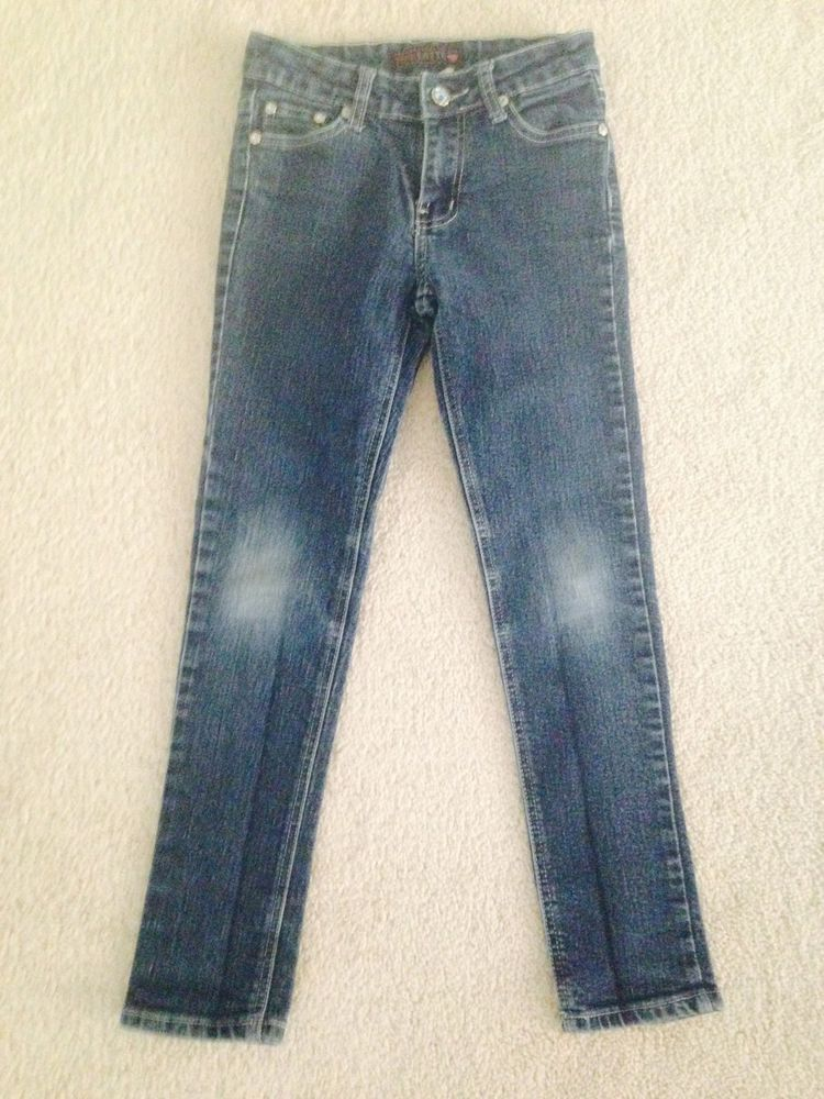 Used Girls Pink Latte Jeans