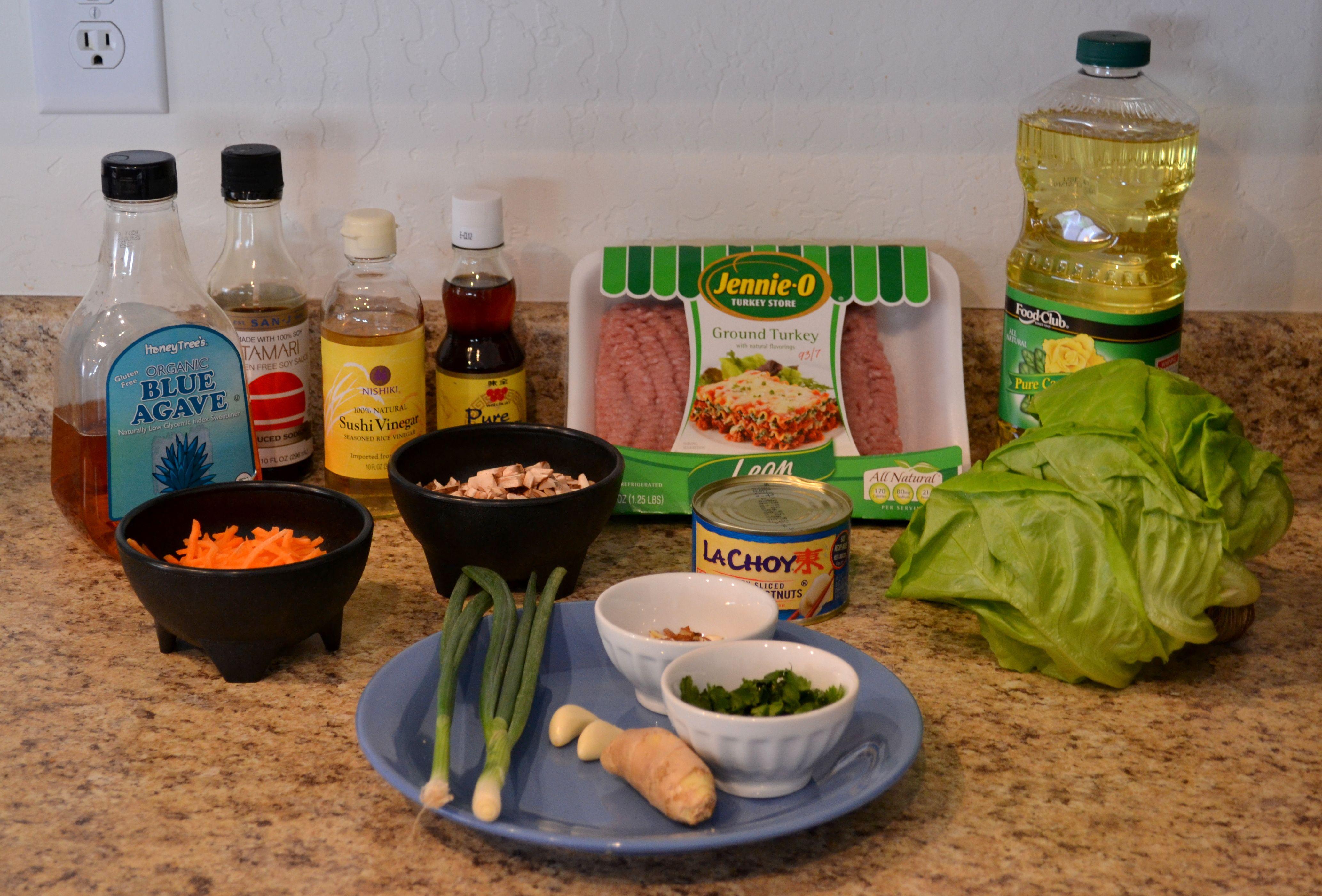 Gluten free asian lettuce wraps asian lettuce wraps