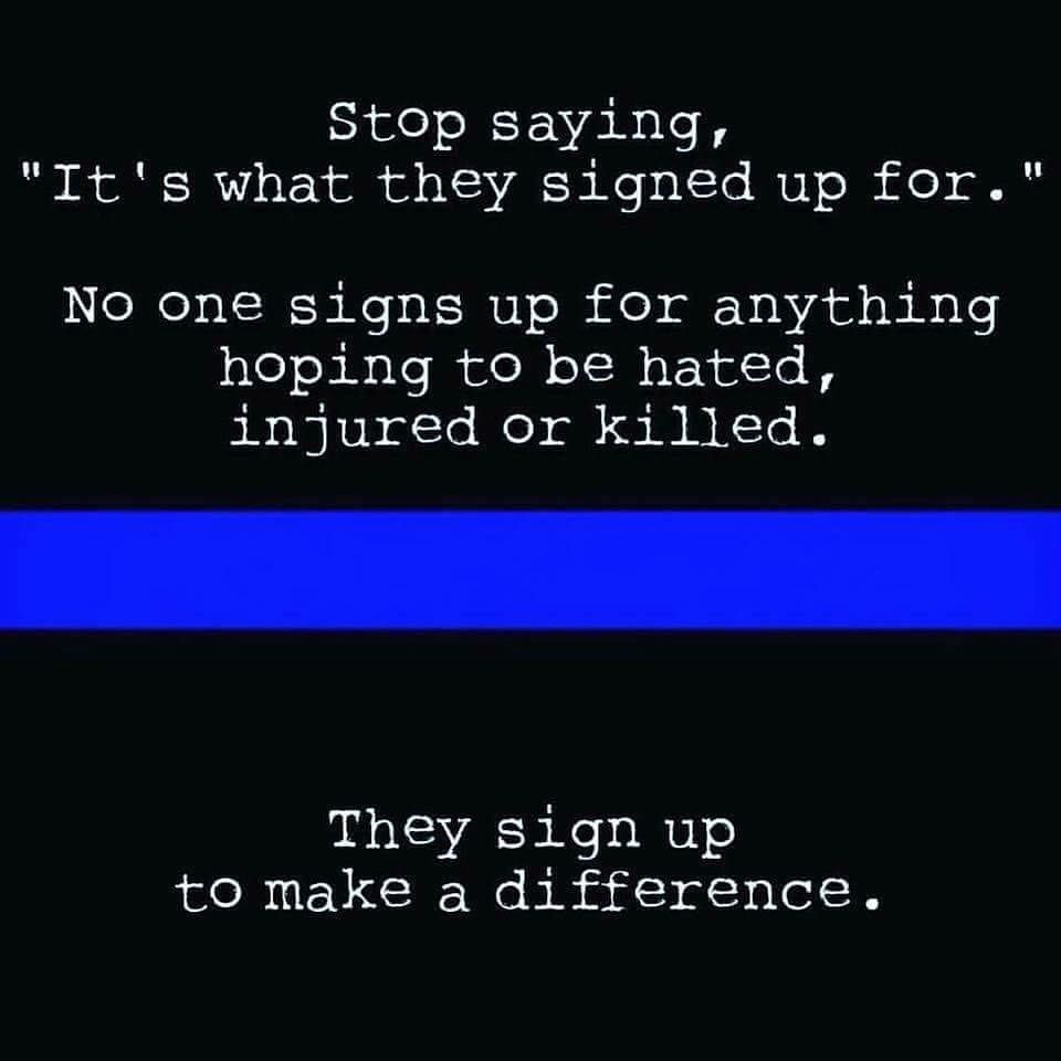 Yup Best Blue Line Quote In Awhile Bluestrong Police Quotes Law Enforcement Quotes Support Law Enforcement Quotes