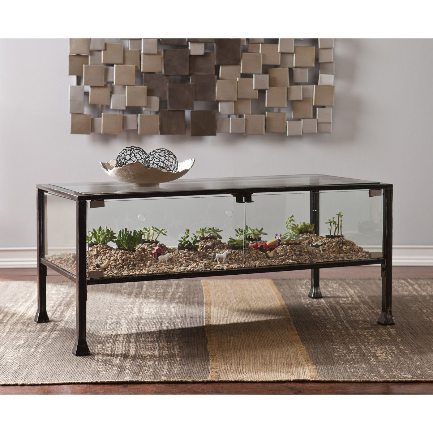 terrarium furniture. wildon home terrarium coffee table furniture p