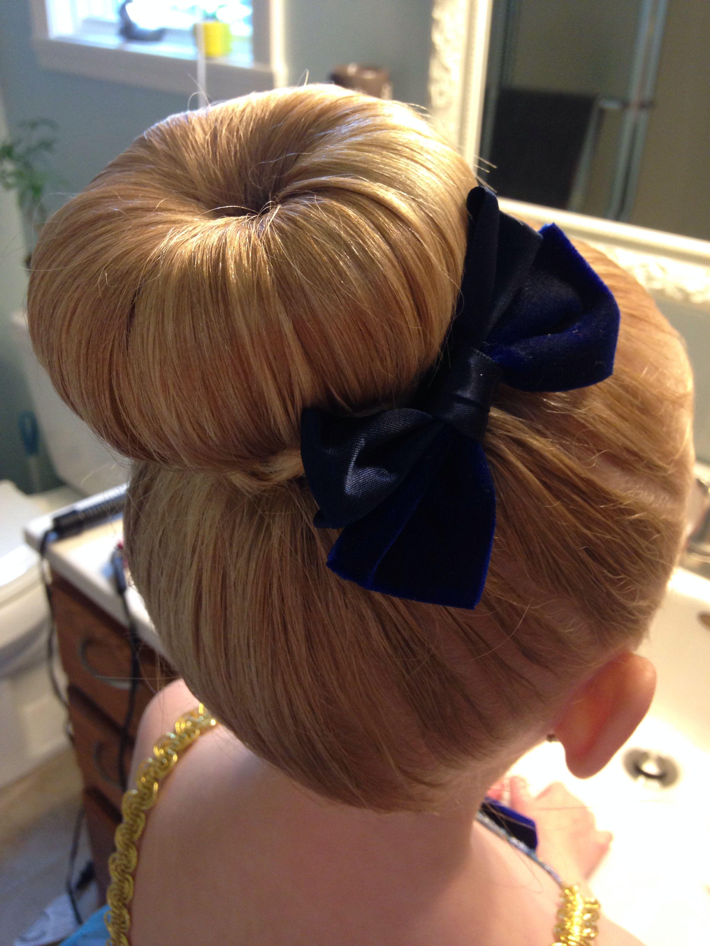 Bun For Dance Recital Cute Hairstyles Hair Styles
