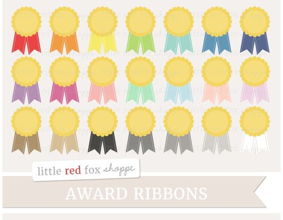 award ribbon clipart promotional banners business cards and graphics