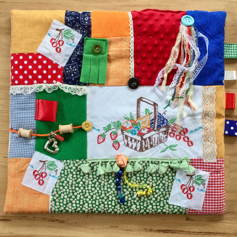 Fidget Blanket Dementia Alzheimers