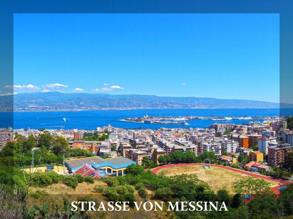 Skylla, Charybdis, Helios: Strasse von Messina (Italien)