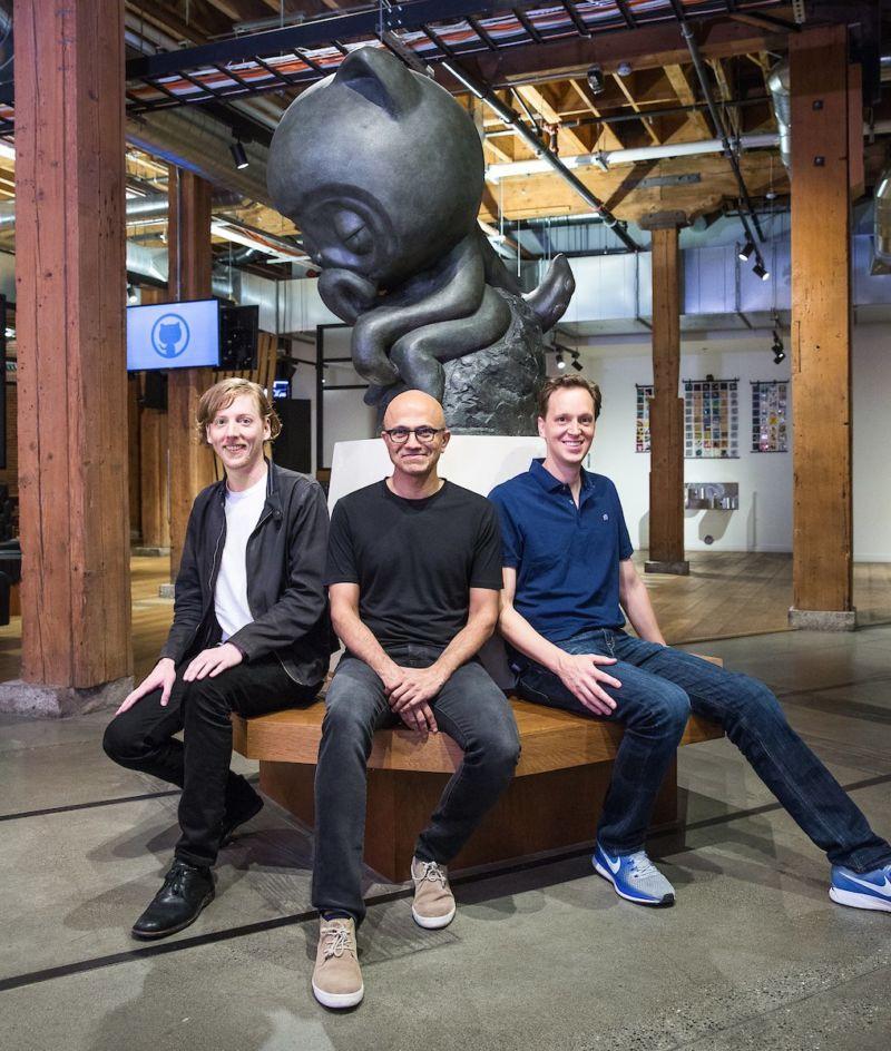 "Microsoft's plan for GitHub ""Make GitHub better at being"