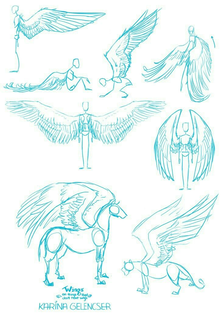 Wings how to draw mangaanime how to draw mangaanime wings how to draw mangaanime ccuart Image collections